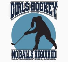 Girl's Hockey by SportsT-Shirts