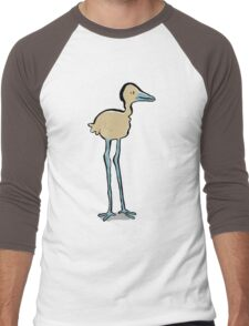 long legged bird Men's Baseball ¾ T-Shirt