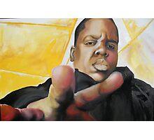 Notorious B.I.G. Photographic Print