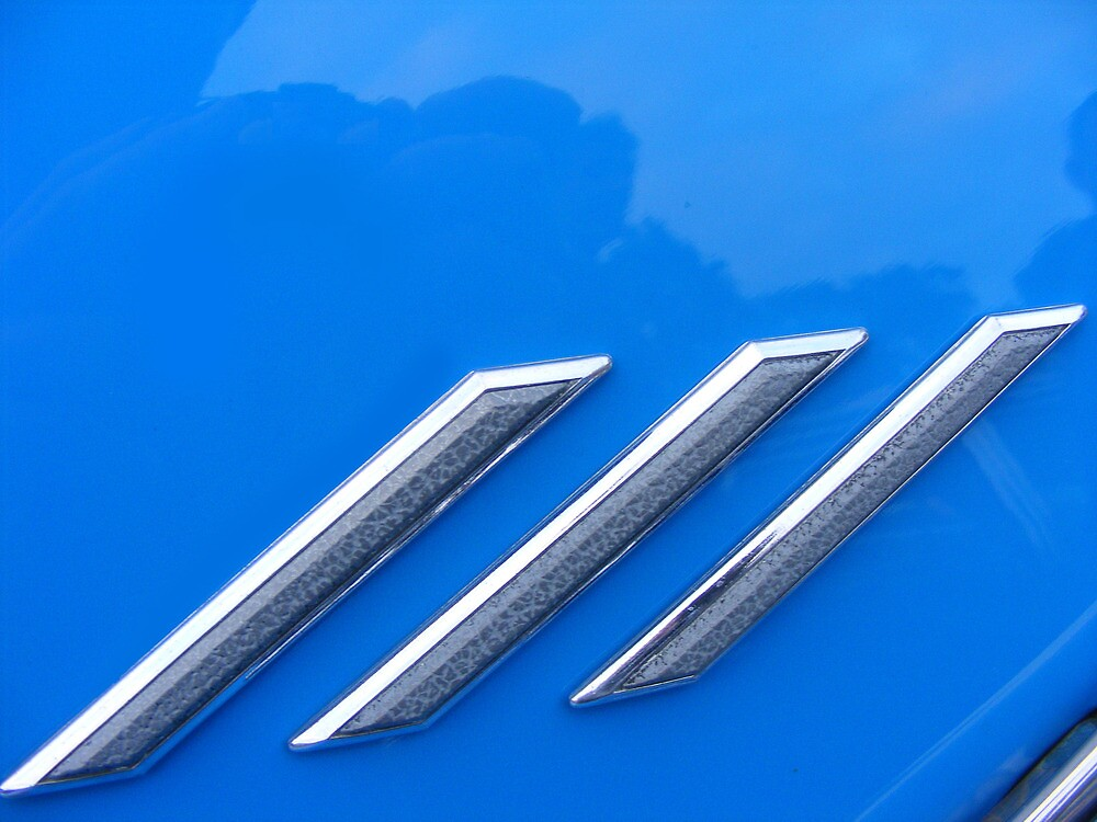 Car Badge  by Russell Voigt