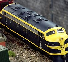 Model rail by Andrew Tummons