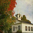 Franklin Church by Deborah  Benoit