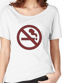 "Marceline's ""Don't Smoke"" Shirt Women's Relaxed Fit T-Shirt"