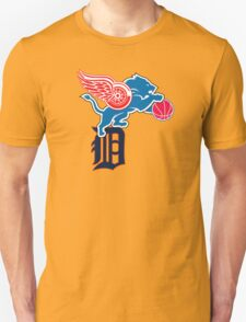 Detroit Sports Love T-Shirt