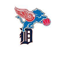 Detroit Sports Love by Painhax