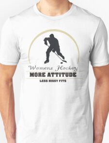 Womens Hockey Unisex T-Shirt