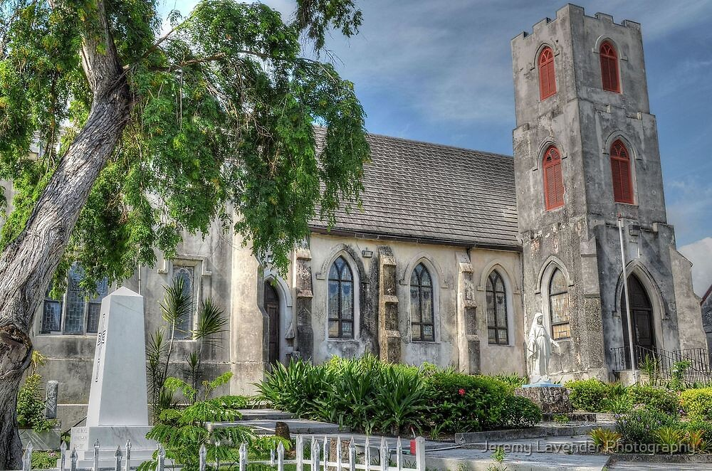St Mary The Virgin Anglican Church in Nassau, The Bahamas by Jeremy Lavender Photography