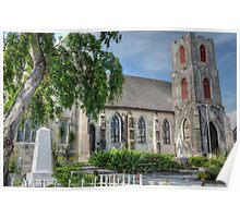 St Mary The Virgin Anglican Church in Nassau, The Bahamas Poster