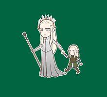 Papa Elf and Baby Leaf Unisex T-Shirt
