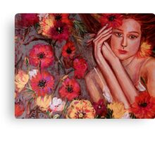 POPPY DANCE  Canvas Print