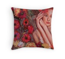 POPPY DANCE  Throw Pillow