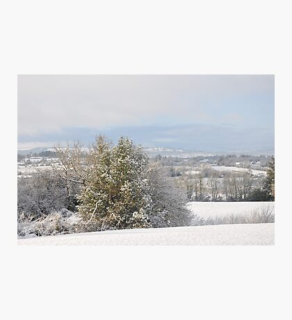 Winter in the hills of Donegal Photographic Print