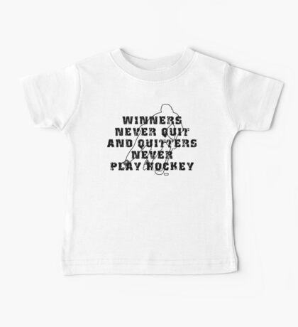 Hockey Quote Baby Tee