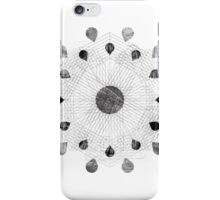 Droplet Flower iPhone Case/Skin