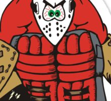 Hockey Goalies Have Bigger Sticks Sticker