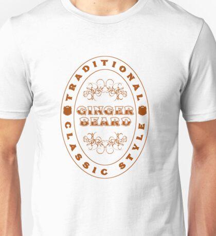 Ginger Beard Unisex T-Shirt