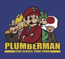 Plumber Man by nikholmes