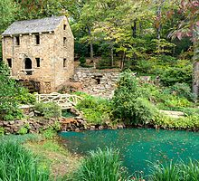 The Old Mill - North Little Rock (Pugh's Mill 1832) by Gregory Ballos | gregoryballosphoto.com