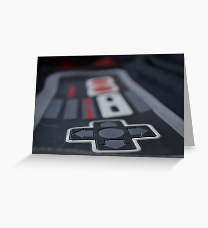 classic gamer Greeting Card