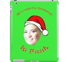 POOT LOVATO MEME iPad Case/Skin