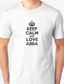 Keep Calm and Love ABBA T-Shirt