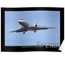 Executive Class Falcon 2000 Poster