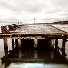The end of the Mornington Pier? by Norm Tilley