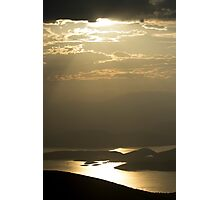 Mediterranean sunrays Photographic Print