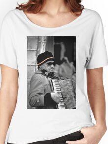Street musician Women's Relaxed Fit T-Shirt