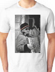 Street musician Unisex T-Shirt