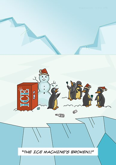 Ice Christmas by Thingsesque