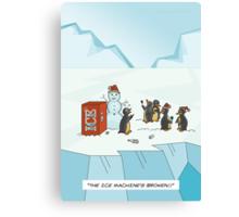 Ice Christmas Canvas Print