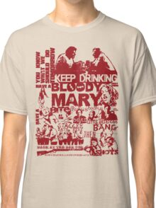 Shaun Of The Dead - Making Plans Classic T-Shirt