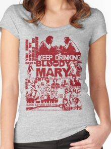 Shaun Of The Dead - Making Plans Women's Fitted Scoop T-Shirt