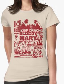 Shaun Of The Dead - Making Plans Womens Fitted T-Shirt