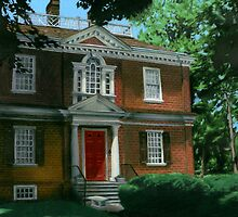 Woodford Mansion by Laura Guzzo