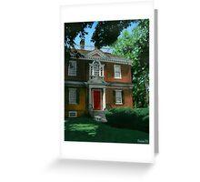 Woodford Mansion Greeting Card