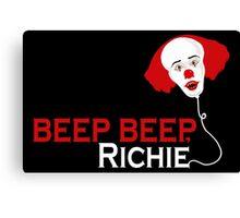 Beep beep, Richie Canvas Print