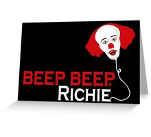 Beep beep, Richie Greeting Card