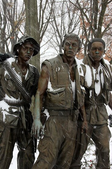 Vietnam Veterans Memorial by ANDREW ROMER