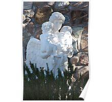 Angelic Motherhood Poster
