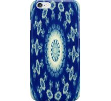 White and Blue iPhone Case/Skin