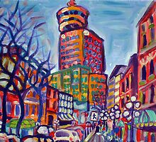 Harbour Centre From Gastown by Morgan Ralston