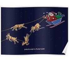 Santa Puncture Poster