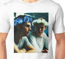 Newt and Thomas with Flowercrowns Unisex T-Shirt
