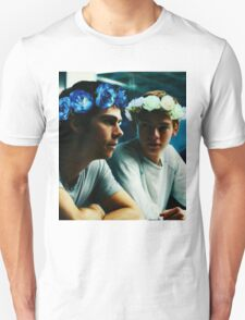 Newt and Thomas with Flowercrowns T-Shirt