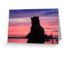 Lone Sailor Greeting Card