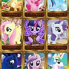 The Pony Elements by nimaru