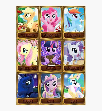 The Pony Elements Photographic Print