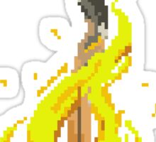 Pixel Souls - Bonfire Sticker